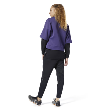 Women Fitness & Training Black Thermowarm DeltaPeak Pants