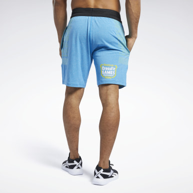 Heren Crosstraining Blauw Reebok CrossFit® MyoKnit Short