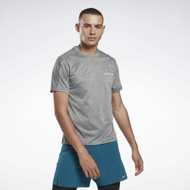 Remera One Series Running Reflective Move Negro Hombre Running