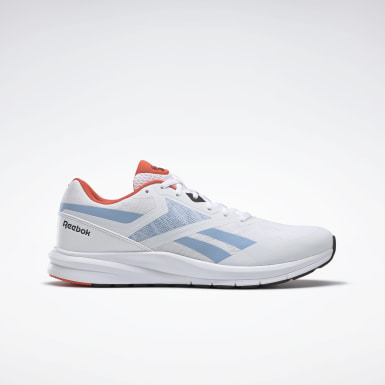 Men Running White Reebok Runner 4.0 Shoes