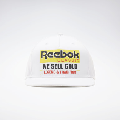 Classics White Classics Graphic We Sell Gold Hat