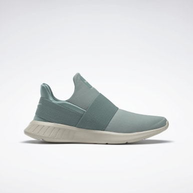 Scarpe Reebok Lite Slip-On Verde Donna Running