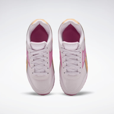 Girls Classics Pink Reebok Royal Classic Jogger 2 Shoes - Preschool