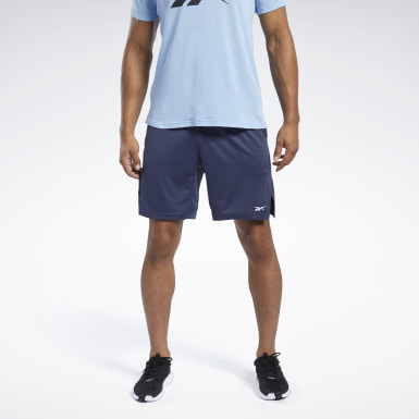 Short Workout Ready Blue Hommes Entraînement