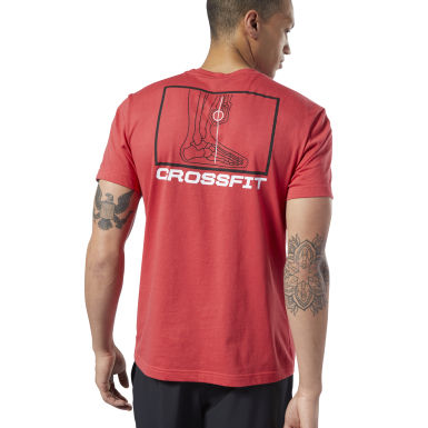T-shirt Reebok CrossFit® Deadlift Diagram