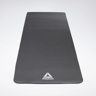 Yoga Svart Training Mat – 7 mm – svart