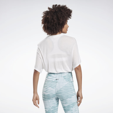 Women Studio White Restorative Studio Tee