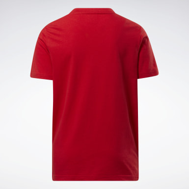 Camiseta Rojo Niño Fitness & Training