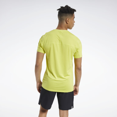 Men Training Yellow ACTIVCHILL Move Tee