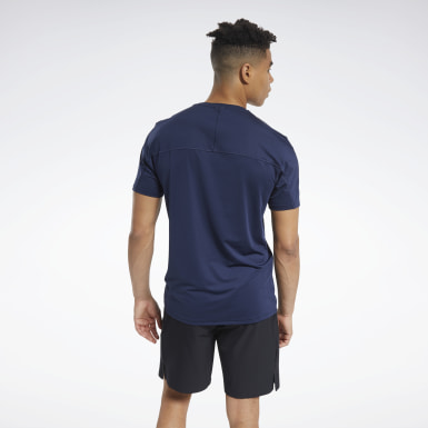 Men HIIT Blue ACTIVCHILL Move Tee