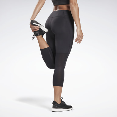 Women Terrengløping Black Running Essentials 3/4 Tights