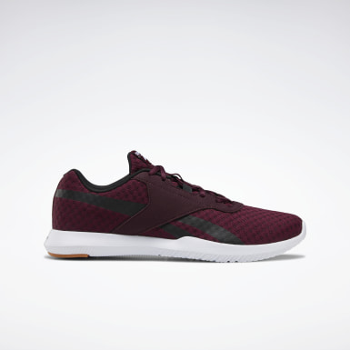 Men Cross Training Burgundy Reebok Reago Essentials 2.0 Shoes