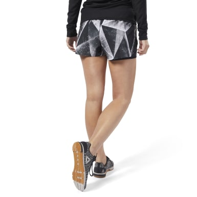 Women Training Black Epic Shorts - Shattered Ice