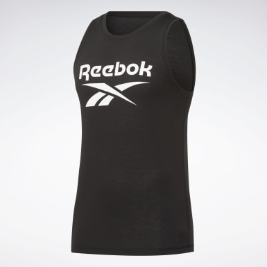 Men Cross Training Black WOR SUP BL TANK