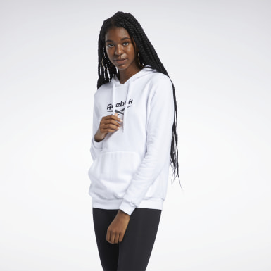 Women Classics White Classics Foundation French Terry Hoodie