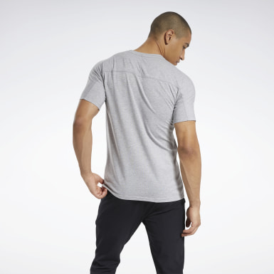 Men Fitness & Training Grey Speedwick Graphic Move Tee