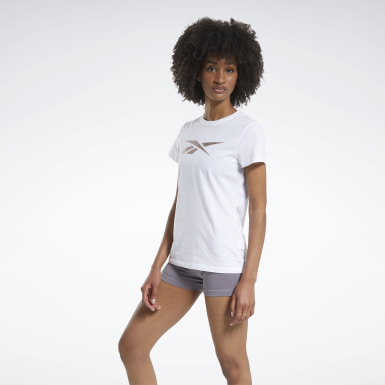 Camiseta Training Essentials Vector Graphic Blanco Mujer Fitness & Training
