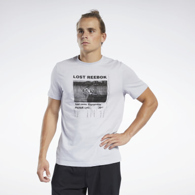 Men Fitness & Training Graphic Series Lost Reebok Crew Tee
