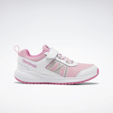 Kids Running White Reebok Road Supreme Shoes - Preschool