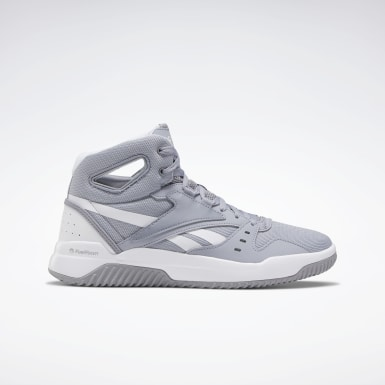 Men Basketball Grey BB OS Mid Men's Basketball Shoes