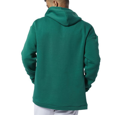 зеленый Худи Workout Ready Full-Zip Fleece
