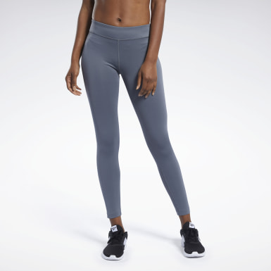 Legging Workout Ready Cinza Mulher Fitness & Training