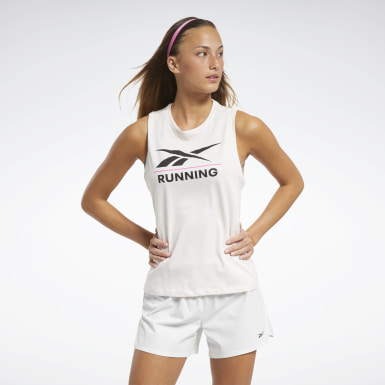 Dames Crosstraining Reebok Specialized Running Mouwloos T-shirt
