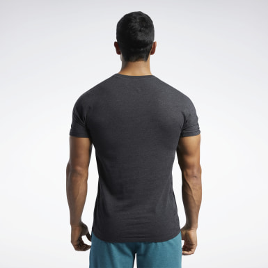 Men Cross Training Black Reebok CrossFit® Move Tee
