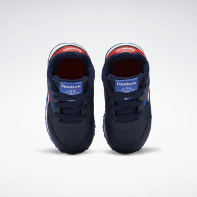 Boys Classics Blue Classic Leather Shoes