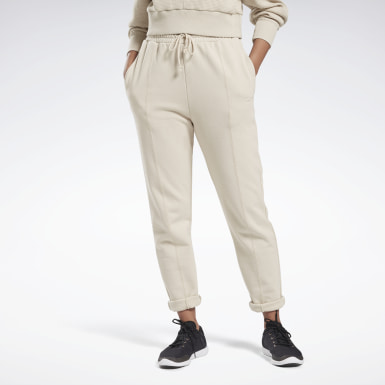 Women Yoga Beige Studio Knit Pants