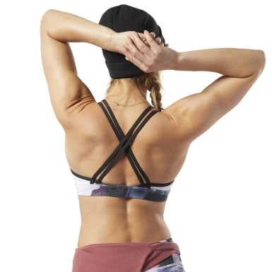 Women Training Purple Hero Strappy Medium-Impact Bra