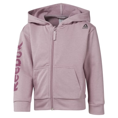 Women Training Purple Girls Elements Fullzip Hoody