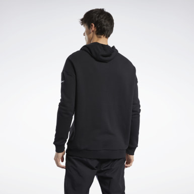 Männer Fitness & Training Meet You There Hoodie Schwarz