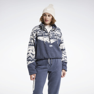 Women Classics Blue Classics Winter Escape Fleece Jacket
