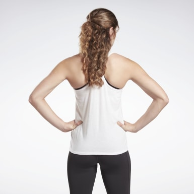 Women Studio White Studio High Intensity Graphic Tank Top