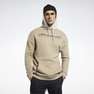 Sweat à capuche MYT Beige Hommes Fitness & Training