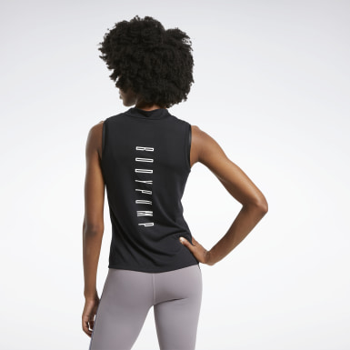 Women Studio Black LES MILLS® BODYPUMP® Tank Top