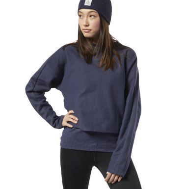 Women Training Blue Training Essentials Sweatshirt