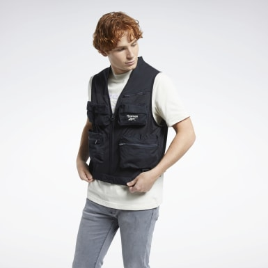 Men Classics Black Classics Vector Fishing Vest