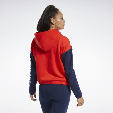 Sudadera Training Essentials Logo Mujer Fitness & Training