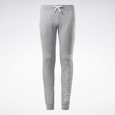 Mädchen Fitness & Training Reebok Outline Jogger Pants Grau