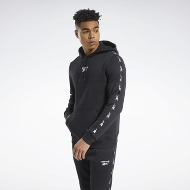 Mænd Fitness & Training Black Training Essentials Tape Hoodie