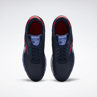 Men Classics Blue Classic Leather Shoes