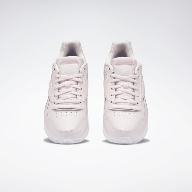 Women Classics Pink Reebok Royal Glide Shoes