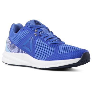 Women Running Blue Reebok Endless Road Women's Running Shoes