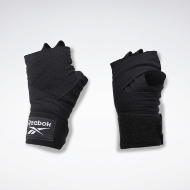 Fitness & Training Black Reebok Combat Hand Wrap