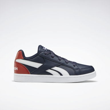 Boys Classics Blue Reebok Royal Prime Shoes