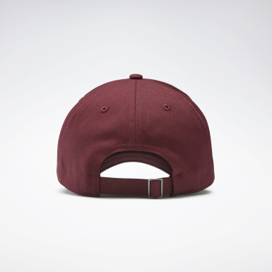 Gorra Active Foundation Badge Burgundy Running