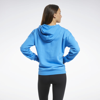 Women Training Blue Training Essentials Full-Zip Hoodie