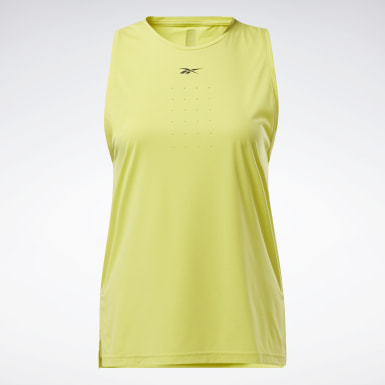 Canotta United By Fitness Perforated Giallo Donna HIIT